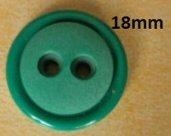 10 Green Knobs 18 mm (3506) knob