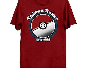 I'll Catch 'Em All POKEMON TRAINER Geek T-Shirt Funny Parody ShirtPop Culture Ash Ketchum Pikachu Go Pokeball