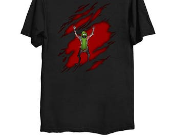 Pickle Rick Breakout | T-Shirt