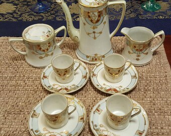 7pc Nippon tea set