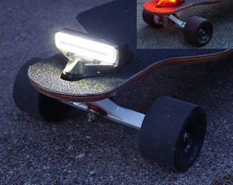 ILLume Light/TailLight - E-Board / Longboard  / Skateboard - Universal Mount w/ Quick Release, Rechargeable, High Output Lights