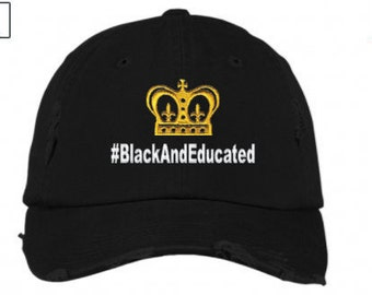 Black and Educated caps