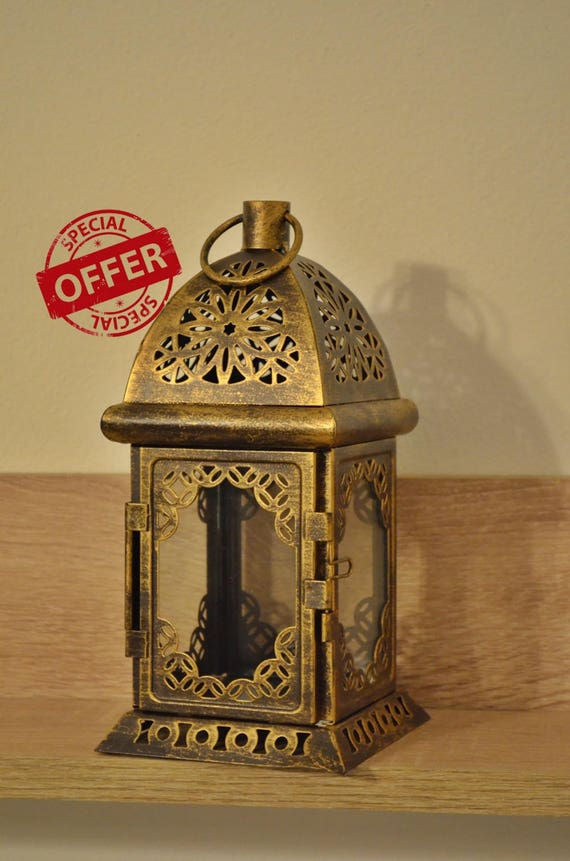 Set of 10 Moroccan Lanterns / wedding centerpieces  / Rustic lantern / Lanterns / wedding lantern / weddings lanterns / lantern centerpiece