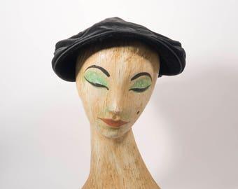 1930s hat | black hat | 30s hat