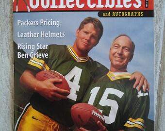 Vintage Brett Favre - 1998 - Brett Favre - Bart Starr - Green Bay Packers gift, Vintage Magazine, Packers football gift, Green Bay Packers