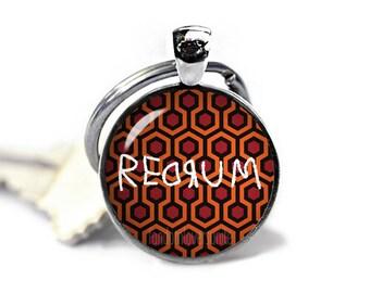 Redrum Key Ring Shining Carpet Keychain Redrum Keyfob Stephen King