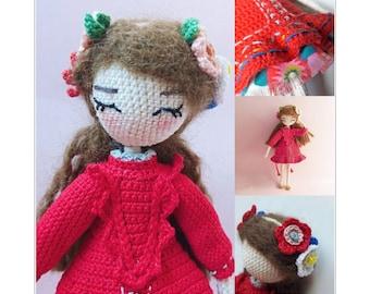 Anette - Crochet doll pattern
