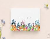 Birthday Card with envelope // Flower Illustration, Blank card, Happy Birthday card, Anniversary,