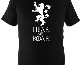 Game of Thrones - House Lannister - Hear me Roar