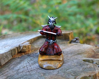 gift for men coworker gift iPhone stand Gift for husband birthday gift samurai art charging station groomsmen gifts dad gift