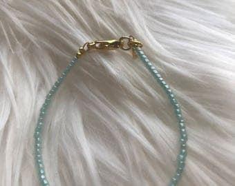 Mint Stacking Bracelet