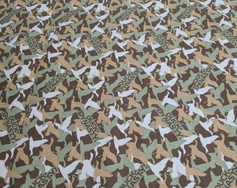 Duck Dynasty Brown Duck Camouflage Cotton Fabric from Springs Creative