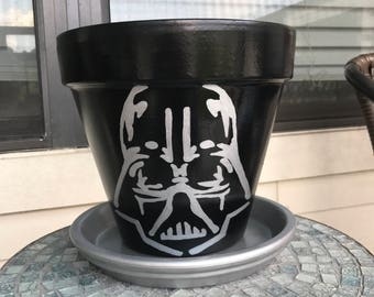 Star Wars Vader Flower Pot