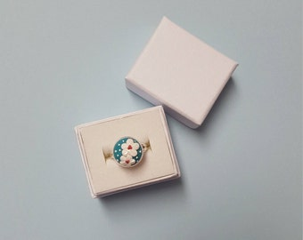 OOAK Polymer Clay Ring