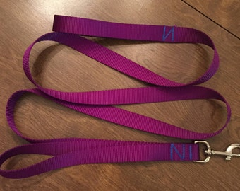 Training Leash {dog training leash, 1 foot leash, 6 foot leash, dog leash, pet leash, nylon leash}