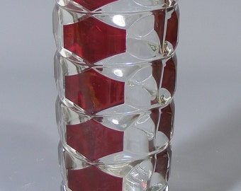 Vintage Art Glass Vase, French Glass Vase, Vintage Vase, Vintage Glass Vase, J G Durand, Mid Century, Flower Vase, Bud Vase, Art Glass,