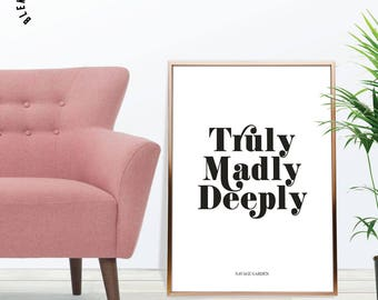 Truly madly deeply etsy Truly madly deeply by savage garden