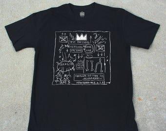 Basquiat Rammellzee Beat Bop T-shirt