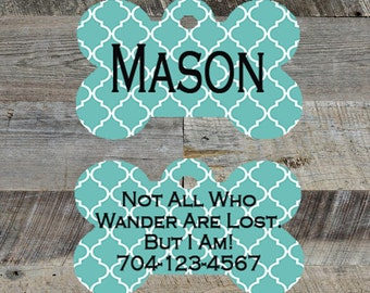 Personalized Pet Tag!  Customize for Your Dog or Cat!