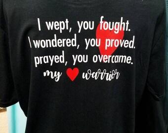 CHD Heart Warrior Shirt / CHD Dad  or Mom Shirt / CHD Awareness Shirt / Unisex Shirt