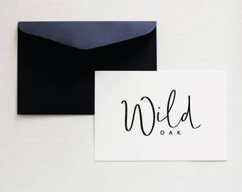 Calligraphy Logo, Script Logo, Pre Made Logo Design, Minimalist Logo Design, Handwritten Logo, Minimalist Design, Business Branding