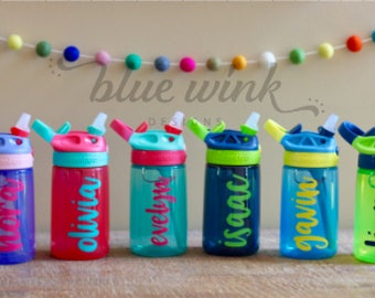 Personalized Water Bottle, Kids Water Bottle, Contigo Kids, Gift for Kids, Kids Tumbler, Gift for Girls, Gift for Boys, Kids Birthday