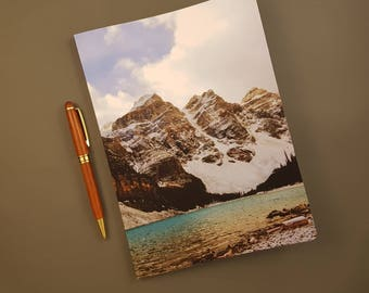 Journaling Gift | Rocky Mountains | Lined Notebooks for Writer | Writing Journals | Diary | John Muir Quote | Lined Paper | Made in Canada