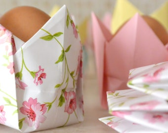 Origami Egg Cup