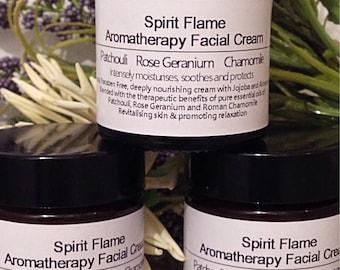 Facial Cream - Aromatherapy - Moisturising - Face Cream - Lotion - Moisturiser - Natural - Essential Oils - Moisturising - Night Cream