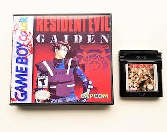 Resident Evil Gaiden & Custom Case  Gameboy Color GBC Game Boy English (US Seller)