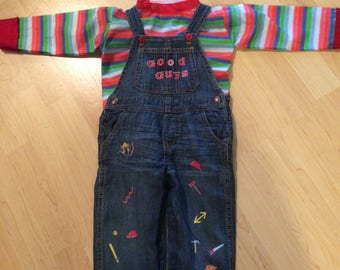 Chucky Costume NEW with tags Toddler or Child Multiple sizes available Custom Made Childs Play Good Guy