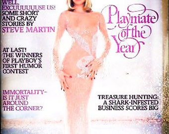 Vintage Playboy June 1979 Playmate of the Year Steve Martin