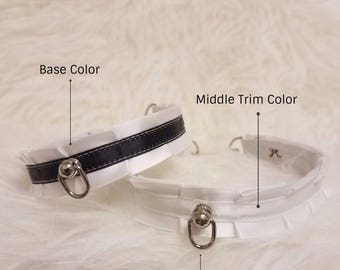 Design Your Own Pleated BDSM Collar