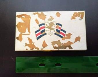 Vintage WWI British Army Cigarette Case
