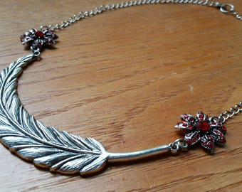 The Feather Necklace.