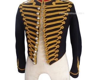 Royal Horse Artillery TRUMPETERS TUNIC - Genuine Issue - Vintage - E435