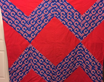 Chicago Cubs Throw/Quilt/Blanket