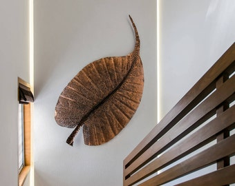 Wall Decor - Metal Leaf