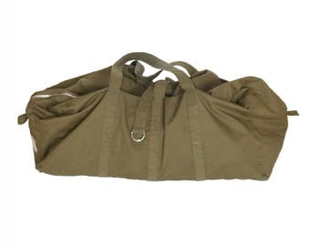 Vintage  Canvas Military Pack, Army Green Bag,  Yoga Canvas Bag, Army Canvas Pack, Travel Bag, Tourist Vinatge Bag
