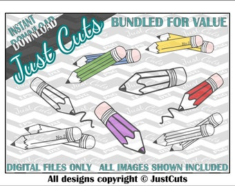 Pencil SVG Bundle, pencil svg, pencils, pencil, svg bundle, school SVG, back to school, eps, png, dxf, coloring, colouring, pencil crayons