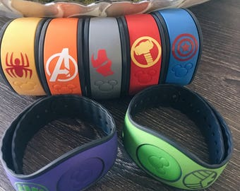 Disney's Avengers Magic Band and Magic Band 2.0 Sticker Decals