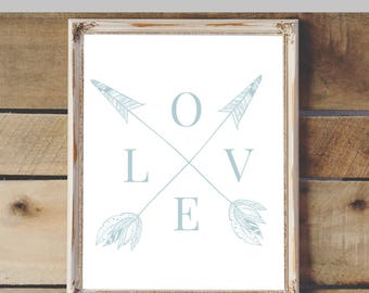 Love Arrows Printable & Graphic