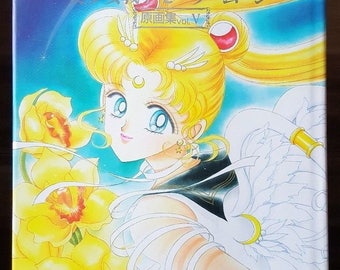 Japanese Sailor Moon Artbook 5 V Takeuchi Naoko Art Illustration Book Rare
