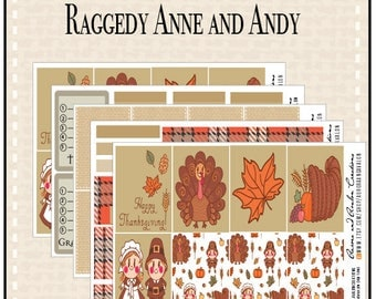 Raggedy Anne and Andy kit