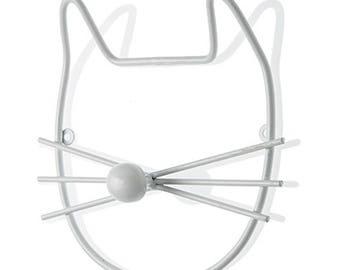 Metal hangers with hooks shaped like Cat 21X4X20 cm