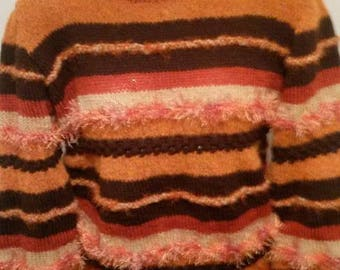 "Very nice sweater style ""Anny Blat"" red/brown"
