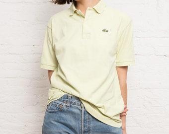 Vintage Lacoste Light Lime Polo Shirt