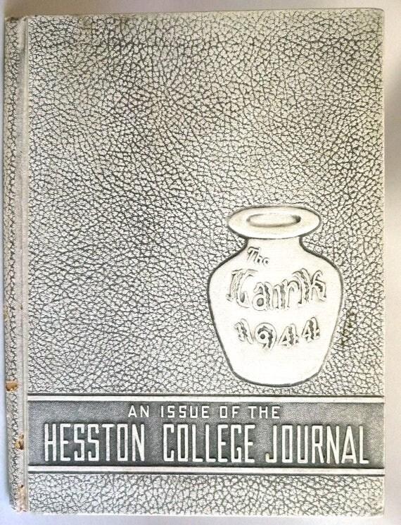 Hesston College Journal (Yearbook) 1944 - The Lark - Hesston, Kansas KS Harvey County
