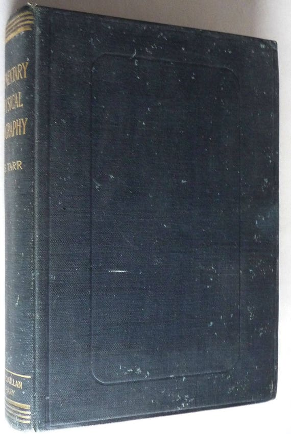 Elementary Physical Geography by Ralph S. Tarr 1896 Hardcover HC Antique Vtg Text Earth Science