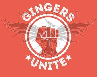 St. Patrick's Day SVG | Gingers Unite svg | st pattys day svg | st paddys day svg | st patricks day svg | st patricks svg | irish funny svg
